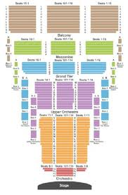 Okc Broadway Seating Chart Civic Center Music Hall Thelma Gaylord Performing Arts