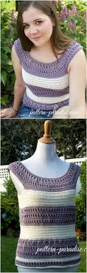 Free Crochet Top Patterns Interesting Inspiration