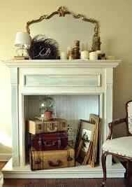 fake fireplace decor reasons for adding the home decoration finishing fireplaces cardboard mantel fake fireplace