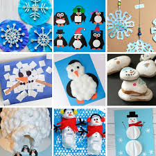 This coffee filter craft is suitable for both kids and adults. 80 Winter Activities For Kids Art Projects Crafts Science Experiments