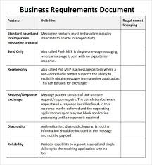 requirements document template business requirement templates sample business requirements inside