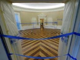 oval office wallpaper. Oval Office Before And After Renovation Trump . Wallpaper O