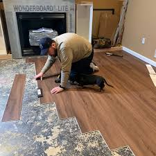 chris heider takes on a diy vinyl flooring install project to refresh his family room space