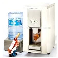 commercial countertop ice maker dispenser bar machine