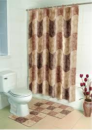 stylish ideas bathroom set with shower curtain pleasant design lofty idea decor curtains area rugs astounding
