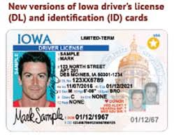 New Licenses Monday Driver's Design Coming Starting Iowa To