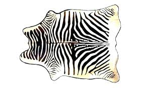 zebra rugs for s real rug skin south ides