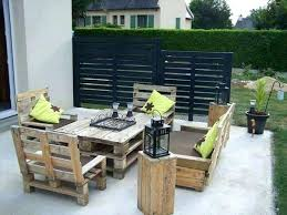 patio furniture made of pallets. Outdoor Patio Furniture Made From Pallets Beautiful Out Of Exterior Design Ideas More Creative Than U