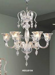 hbsj0184 elegant crystal decoration glass chandelier made in china