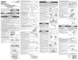 chamberlain garage door opener manualGarage Linear Garage Door Opener Manual  Home Garage Ideas