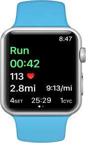 apple watch interval