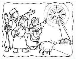 Christmas Coloring Pages Lds Creativeinfotechinfo