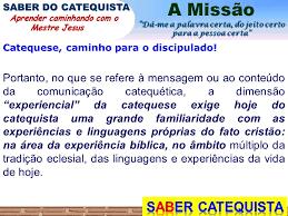 DO CATEQUISTA