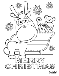 Christmas coloring pages are just so much fun! 5 Christmas Coloring Pages Your Kids Will Love