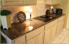Of White Kitchens With Granite Bainbrook Brown Granite With White Cabinets Home Design Ideas