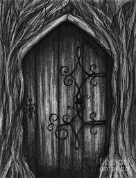 Half open door drawing Point Perspective Door Drawing Open New Door By Ferwerda Pixels Open New Door Drawing By Ferwerda