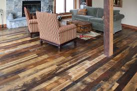 image of top wide plank flooring