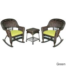 3 piece wicker cushion set 3 piece wicker cushion set espresso rocker chair with cushions tufted