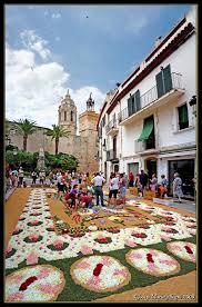 corpus christi flower festival sitges