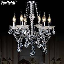 tleidi crystal wrought iron chandelier living room lamp dining room bedroom lamp modern minimalist living room chandelier bedroom dining room lighting lamps