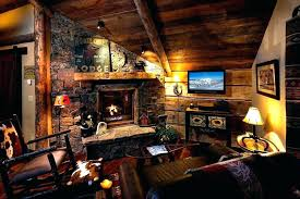 Log Cabin Living Room Concept Interesting Inspiration Design