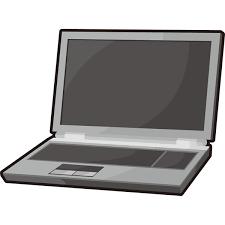 家庭生活 パソコンノートパソコンカラー 無料イラスト