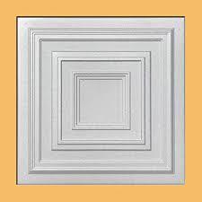 Antyx White (Foam) Ceiling Tile   40pc Box   Decorative Ceiling Tile Easy  Glue