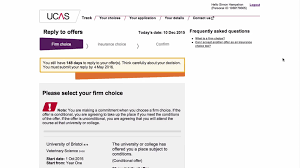 Deadlines For Accepting University Offers Ucas