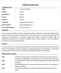 Nursing Resume Templates Free free nursing resume template word