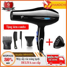 Shop bán [HÀNG LOẠI 1] Máy sấy tóc nóng lạnh DELIYA - máy sấy tóc, máy sấy  tóc mini, máy sấy tóc tạo kiểu, máy sấy tóc lạnh + Tặng lược Tạo