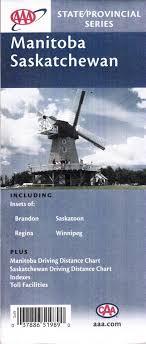 Manitoba Distance Chart Manitoba Saskatchewan Including Brandon Regina Saskatoon