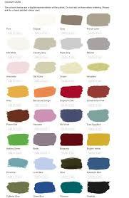 Annie Sloan Chalk Paint Color Chart Annie Sloan Colour Chart In 2019 Annie Sloan Chalk Paint