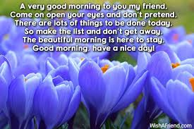 good morning sunday message for friends