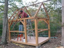 timber small cabin shed plans