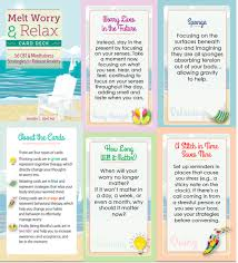 Melt Worry Card Deck — Dr. Jennifer L Abel