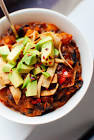 black bean  butternut and chipotle chili