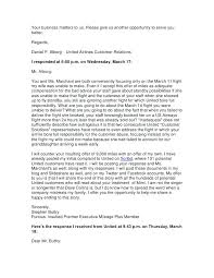 Letter To Airline Delayed Flight Compensation Letter Template Airline Complaint Money