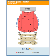 Rialto Seating Chart Peppa Pig Joliet At Rialto Square Theatre On 2019 10 11