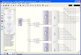 digital profilab digital profilab communicates digital i o cards lpt port com port and external modules draw a circuit diagram logic components like gates