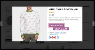 Yith Quick View Yith Product Size Charts For Woocommerce