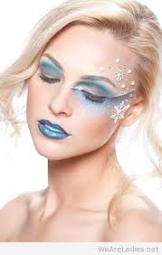 games 2016 crystals frozen elsa inspired makeup ice snowflakes tutorial f72220 snow queen disney