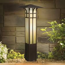 15458oz 12v Landscape Mission Bollard Light