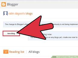 How To Create A Blog 3 Ways To Create A Blogger Blog Wikihow