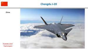 Chengdu J-20, Multirole Fighter specs comparison - YouTube