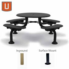 Round Picnic Table Commercial Picnic Tables Commercial Outdoor