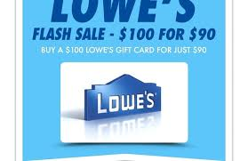 lowes gift card deal promo lowes gift card deals 2016 lowes gift card