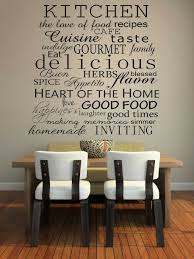 Wall Writing Decor Wall Decor Wall Decor For Kitchen Interior Design And Home