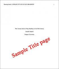 Apa 6 Cover Page Ingami