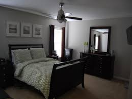 High Quality ... Astounding Grey Bedroom With Black Furniture ...
