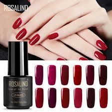 ON HAND — <b>Rosalind RED</b> PURPLE Soakoff UV Nail <b>Gel Polish</b> ...